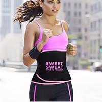 göbek kontrol kemeri toptan satış-Bel eğitmen Zayıflama Kemeri bel şekillendirici Karın Kontrol tatlı ter Kemer modelleme kayışı vücut şekillendirici Kadınlar Vücut Şekillendirici Göbek