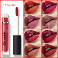 Wholesale ultra gloss for sale - Group buy CmaaDu Lipgloss Colors Liquid Lipstick Waterproof Sexy Red Ultra Ever Lasting Dream World Matte Lip Color gloss