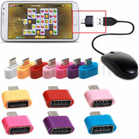 Wholesale usb converter samsung for sale – best colorful Mini Micro USB To USB OTG Adapter Converter For Android Phones Samsung Huawei Tablets