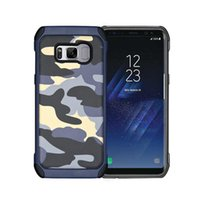 Wholesale phone dessert resale online - For Samsung s6 s7 s8 Note5 s7edge Amy Camo Phone Case Phone Skin Back Covers City Dessert Jungle Camouflage SCA065