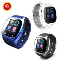 precios para samsung s5 al por mayor-2016 Bluetooth Smart Watches M26 para iPhone 6 6S Samsung S5 S4 Note 3 HTC Android Teléfono Smartwatch para Hombres Mujeres Precio de fábrica