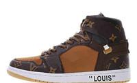 zapatillas de baloncesto de los hombres zapatos de descuento al por mayor-Classic 1 1s OG Chicago Red UNC Power Azul Blanco Zapatillas de baloncesto Zapatillas de deporte Descuento en zapatillas de deporte Hombres Mujeres Diseñador deportivo Zapatillas de deporte