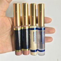 Wholesale free liquid lipstick resale online - Top quality Colors long lasting Liquid lip color lipstick Gloss Aussie Nape Apple cider glossy pear gloss bombshell DHL free