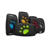 ingrosso collari di recinzione del cane-Collare per localizzatore di localizzatori GPS per mini cani da compagnia per piattaforma di APP gratuita Geo-Fence LBS per gatto lungo