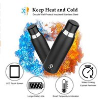 Wholesale water temperature lcd for sale - USB Rechargeable Smart Water Bottle Cup Drinking Temperature Display Warning LCD Touch Screen ml OZ Joyshaker Water Bottle Flask
