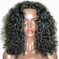 Wholesale unprocessed brazilian human hair wigs resale online - Full Lace Silk Base Glueless Wig Water Wave Malaysian Silk Top Full Lace Wigs Unprocessed Human Hair Glueless Lace Front Silk Base Wig