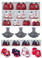 tj oshie jersey venda por atacado-NHL Washington Capitals, Jersey 8, Alex Ovechkin, 43 Tom Wilson, 19 Nicklas Backstrom, 70, Braden Holtby, 77, TJ Oshie, 92, Kuznetsov, Hóquei, Jersey