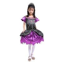 33304afbf0c4 ... i vestiti dei capretti del costume di ragno di Cosplay delle ragazze di  Halloween dei capretti del bambino per i vestiti 2019 Vestiti Abiti  Dropshipping