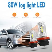 Wholesale white bulbs for car headlights resale online - 12V W Car Bulbs White Yellow H16 H7 H8 for Led Fog Light H9 H11 H4 H1 H3 Bulb LM High Low Beam Headlight