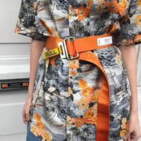 pintura a óleo única venda por atacado-Camisa de pintura a óleo 19SS homens mulheres s1: 1 alta qualidade verão estilo moda c camisas