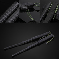 Recovers 26cm elongation 63cm Outdoor Survival gadget Trekking pole Tactical Pen Emergency Window Breaking Telescopic Rejection Stick