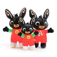 personnaliser la peluche achat en gros de-2019 nouvelle arrivée Bing Bunny Bunny Soldier Peluche Jouet Personnalisé de Bande Dessinée Animaux Peluches Lapin Poupée De Noël Jouet en gros