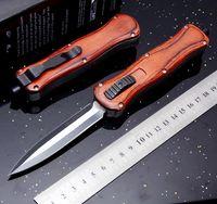 borboleta de bancada venda por atacado-Borboleta Benchmade A016 166 vermelho 9 polegadas dupla ação dupla ação Dobrável Bolso Faca de Sobrevivência Xmas faca de presente bm43