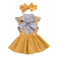 Wholesale baby girl costumes boutique resale online - Designer little girl formal dresses Kid Girls Wedding Party Dresses Baby Girls Clothing Costume Kids Girl Boutique