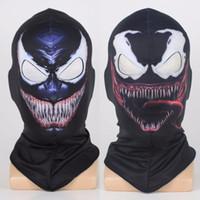 ingrosso yu gi oh all'ingrosso-Venom Spiderman Maschera Cosplay Nero SpiderMan Edward Brock Dark Supereroe Venom Maschere Casco Puntelli di Halloween Party