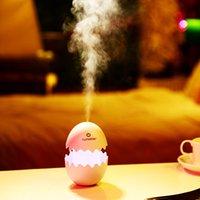 umidificador de ovos de ultra-som venda por atacado-Bonito Egg umidificador de ar ultra USB umidificador de ar Escritório domésticos essenciais Aroma Oil Difusor USB Car Umidificador Fogger