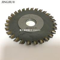Wholesale iron cutting machines resale online - milling cutter teeth Iron X5X16mm blade for JINGJI mini P1 P2 flat key cut machine