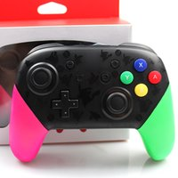 Wholesale For NS Switch Pro Gamepad Wireless Bluetooth Controller Host Gaming Joystick Vibration Without LOGO For Pro Console DHL Free