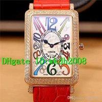 relógios de luxo venda por atacado-Retângulo 18K Rose Bezel Diamante suíço Quartz Ladies / Lady Assista Alligator Leather Strap Big Fantasia numerais arábicos Womens Relógios de mão