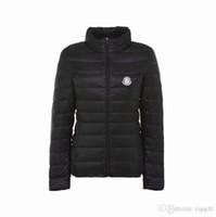 parka para mujeres de talla grande al por mayor-Nuevas mujeres más el tamaño de manga larga luz cálida acolchada chaqueta de invierno parkas de las mujeres para las mujeres abrigo de invierno chaqueta de moda