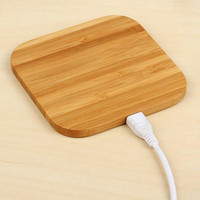 Wholesale qi charger wood for sale – best Hot Sale Bamboo Wood Wooden Qi Wireless Charger Pad Fast Charging Dock With USB Cable Phone Charging Tablet Charging For iPhone XS MAX XR