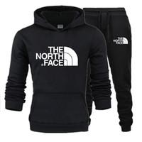 zip sweatshirt erkek toptan satış-Erkekler Için kış Eşofman Marka Tasarımcı Mont TopsPants Takım Elbise Logo Moda Sonbahar kazak Erkekler Hoodies Tişörtü Fermuarlı Erkek Giyim
