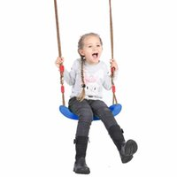 Wholesale plastic swings for sale - Group buy Plastic Garden Swing Kids Hanging Seat Toys with Height Adjustable Ropes Swing Games Family Fun Kids Activity Props Gifts