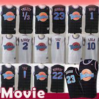 Wholesale basketball jerseys shorts for sale - Group buy Taz Tweety Tune Squad Space Jam Bugs Bunny Movie Jersey Men s Kid s Michael Bill Murray Lola D DUCK Basketball Jerseys