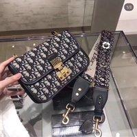 vintage tuval deri haberci çantası toptan satış-Kadın Deri Kadınlar Çanta 2019 Sıcak Kadınlar Kalite kutu ücretsiz teslimat ile Bayan Çantası Vintage lüks çanta tuval