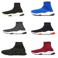 ingrosso caccia attiva-Gli uomini liberi di donne INS calzino scarpe scarpe famosi con bianco trama del solo progettista calzino calza il formato 36-45 Parigi