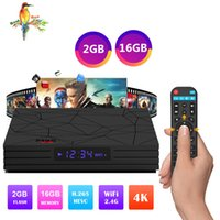 lecteur multimédia pc achat en gros de-Hot M9S W5 Smart TV Box Lecteur de streaming multimédia Android 7.1 Amlogic S905W Quad Core 2 Go 16 Go 2,4 G Wifi Mini PC 4K Lecteur multimédia Miracast DLNA