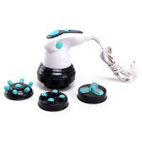 kırık tabaklar toptan satış-AH Elektrikli El Masajı Push 4 Değiştirilebilir Kafaları ile Yağ Masaj Makinesi Itin Yağ Makinesi Kırık Yağ Güç Plakası Vücut Itin AB Masaj
