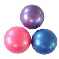 pelotas de gimnasia de ejercicio al por mayor-25cm de la yoga de la bola ejercicio gimnástico de fitness Pilates bola del ejercicio Gym Fitness Core Yoga Formación de interior # 45