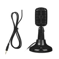 детские компьютеры оптовых-LEORY 1.5m Stereo Condenser Stand Microphone Wired Microphone For Video Recording Computers KTV Karaoke Kids Professional