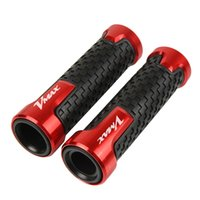 Wholesale bars motorcycle accessory resale online - Motorcycle Accessories Aluminum plastic Hand Grip motorbike Handlebar Handle Bar grips For V MAX with