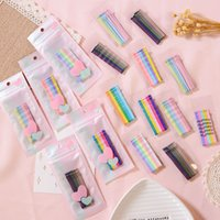 Wholesale children style accessories for sale - Girl Candy color hot selling Korean style Lady child ins hairpin headwear candy hair clip bb clip small hairpins Hair Accessories