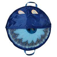 azul marinho bolsa para compras venda por atacado-Azul marinho Saco de Tutu de Balé Profissional Lona À Prova D 'Água Flexível E Dobrável Saco de Balé macio panqueca Tutu Céu Azul para meninas
