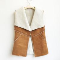 faux pelzart großhandel-New Style Fashion Winter Faux Pelzmantel Frauen Faux Lambswool Pelz Umlegekragen Oberbekleidung Pelz gefüttert Jacken für Frauen
