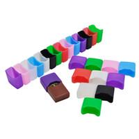 gummistiefel großhandel-Silikon Test Drip Tip Cap Gummimanschette Einweg Abdeckung Mundstück Wraps für Vape Pen Pods Zubehör Dhl-frei