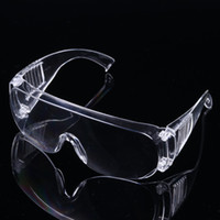 Wholesale work protection glasses for sale - Group buy Transparent Protective Glasses Splash Proof Impact Resistant Wind Dust Proof Ride Safety Goggles Work Protection Eyewear Eye Glass BC BH3438