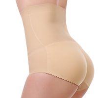 Wholesale waist hip underwear for sale - Group buy Padded Panty High Waist Briefs Sexy Charming Women Slim Underwear Bottom Hip Up Briefs Butt Enhancer Body Shaper Panties