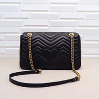 sh taschen großhandel-31cm Handtasche Mode Marmont Designer Handtasche Schulter Messenger Bags große Tasche Sheltler Tasche große Tote