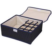 ropa interior 12 piezas al por mayor-2 en 1 ropa interior Caja de almacenamiento plegable Sujetador de ropa interior Organizador de armarios para los lazos Lazos Ropa interior solo 1 un