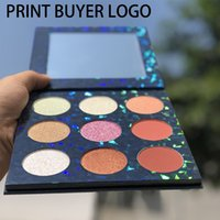 Wholesale eyeshadow logos resale online - 9 color Nude Eyeshadows Everyday Eye Shadow Palette Vegan Paraben Free Cruelty Free Mented eyeshadow Cosmetics new arrive print your logo
