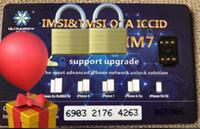 ingrosso heicard per iphone-Nuovo arrivato Scheda di sblocco Modello ICCID Sblocco per iPhone Facile Installazione Sblocco Sim Card Chip nero Sprint ATT AU Factory di Chaoxue