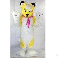 costume cachorro costume cachorro venda por atacado-2019 fábrica venda quente simulado cão mascote trajes desempenho do palco adereços do filme dos desenhos animados vestuário feito sob encomenda
