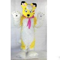 trajes por encargo para la venta al por mayor-2019 Venta de fábrica de perros simulados calientes trajes de la mascota rendimiento de la película accesorios de dibujos animados de ropa por encargo