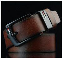 cinto de couro produtos venda por atacado-Home Acessórios De Moda Cintos Acessórios Cintos Detalhes do Produto 2019 Novo cinto de designer Pin Buckle cintos de couro para homens Luxo mens