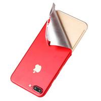 celulares de 5,5 polegadas venda por atacado-Transporte rápido para iphone xs max adesivo de gelo 4.7 polegada 5.5 polegada celular film para iphone x etiqueta do telefone
