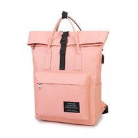 935c1485914 Wholesale nude girl canvas for sale - NEW Women External USB Charge  Backpack Canvas Backpack Male